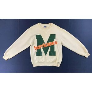 Vintage Miami Hurricanes Russell Athletic Shirt
